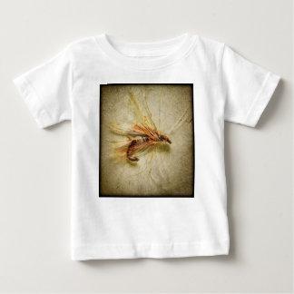 Camiseta Para Bebê Pescando a mosca