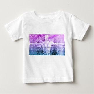 Camiseta Para Bebê Pesquisa da ciência como um conceito para a