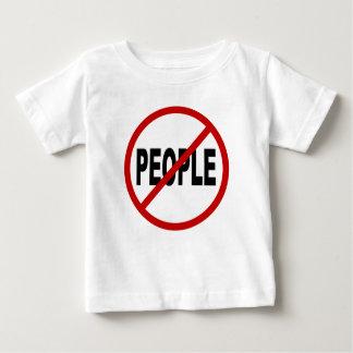 Camiseta Para Bebê Pessoas de pessoas de /No do ódio permitidas a