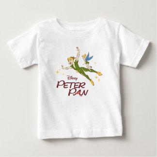 Camiseta Para Bebê Peter Pan & Tinkerbell