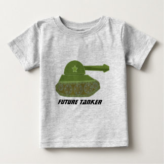 Camiseta Para Bebê Petroleiro futuro