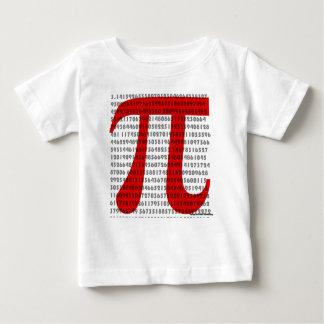 Camiseta Para Bebê pi