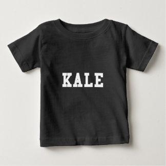 Camiseta Para Bebê Pia batismal da faculdade da couve engraçada