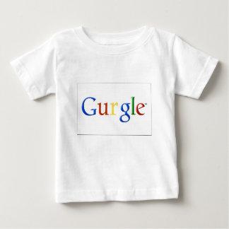 Camiseta Para Bebê Pia batismal da velha escola do vintage do