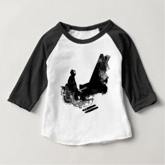 Camiseta Para Bebê pianista