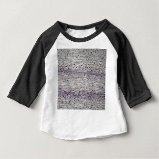 Camiseta Para Bebê Pilhas de uma raiz sob o microscópio