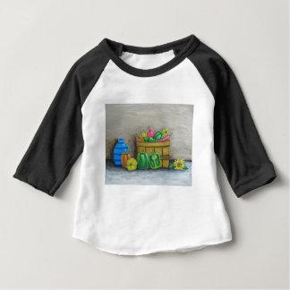Camiseta Para Bebê pimentas