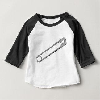 Camiseta Para Bebê Pin de segurança
