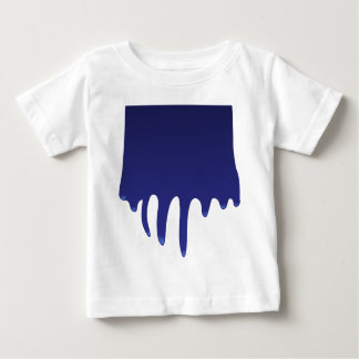 Camiseta Para Bebê pintura