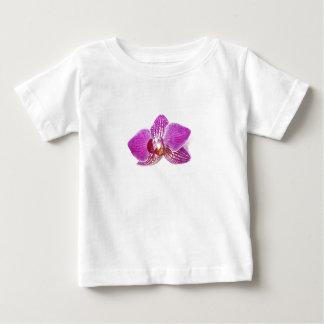 Camiseta Para Bebê Pintura floral do aquarel do phalaenopsis do Lilac