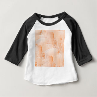 Camiseta Para Bebê Pintura fresca