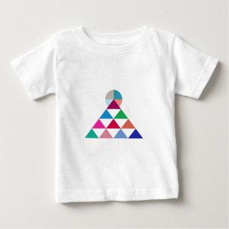 Camiseta Para Bebê Pirâmide
