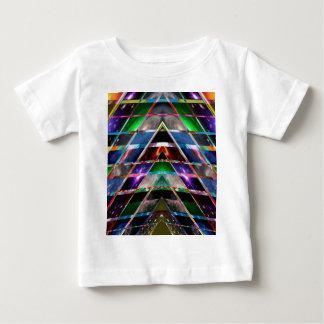 Camiseta Para Bebê PIRÂMIDE - aprecie o espectro de energia cura