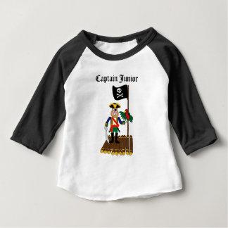 Camiseta Para Bebê pirata
