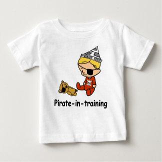 Camiseta Para Bebê Pirata no t-shirt do bebê do treinamento