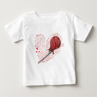 Camiseta Para Bebê Pirulito