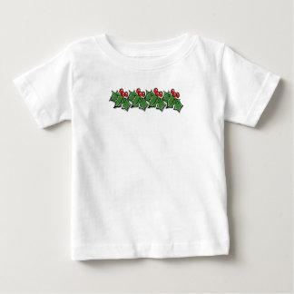Camiseta Para Bebê Pista do azevinho