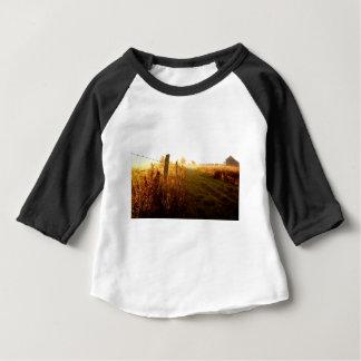 Camiseta Para Bebê Pista do país, Ontário do norte Canadá