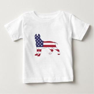 Camiseta Para Bebê Pitbull Terrier americano