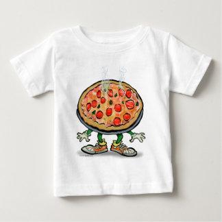 Camiseta Para Bebê Pizza