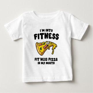 Camiseta Para Bebê Pizza da malhação