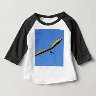 Camiseta Para Bebê Planador de cair no céu