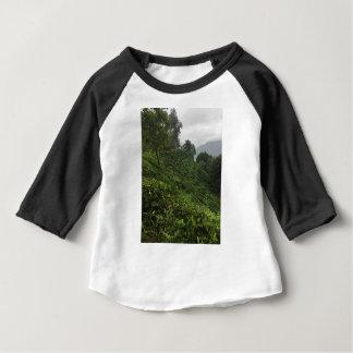 Camiseta Para Bebê Plantação de chá