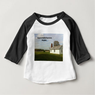 Camiseta Para Bebê Plantação do castelo do bacon, VA