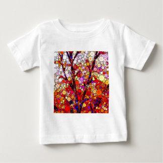 Camiseta Para Bebê Plantando árvores de cereja