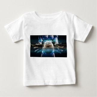 Camiseta Para Bebê Plataforma da segurança do controlo de acessos