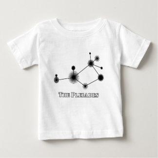Camiseta Para Bebê Pleiades com título - roupa da criança