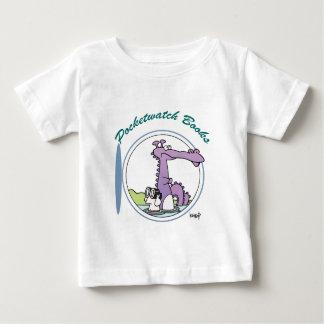 Camiseta Para Bebê Pocketwatch registra o logotipo