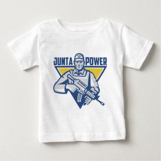 Camiseta Para Bebê Poder ucraniano da junta do exército