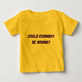 Camiseta Para Bebê Poderia Chomsky ser errado?