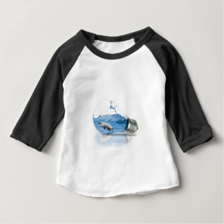 Camiseta Para Bebê Polar