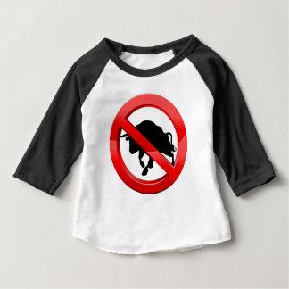 Camiseta Para Bebê Polegares de salto do menino dos desenhos animados