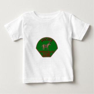 Camiseta Para Bebê Polícia de Moreno Valley