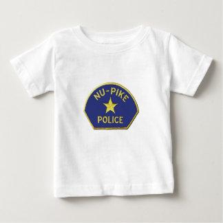 Camiseta Para Bebê Polícia de NU-Pike