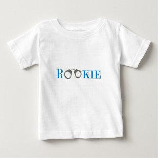 Camiseta Para Bebê Polícia do recruta no futuro do treinamento