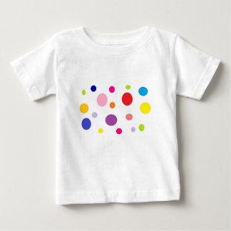 Camiseta Para Bebê polkadots