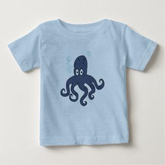 Camiseta Para Bebê Polvo