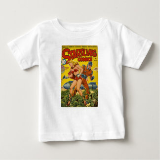 Camiseta Para Bebê polvo minúsculos