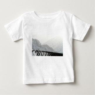 Camiseta Para Bebê Pomar da área de Keremeos no inverno