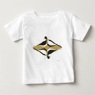 Camiseta Para Bebê Pombos