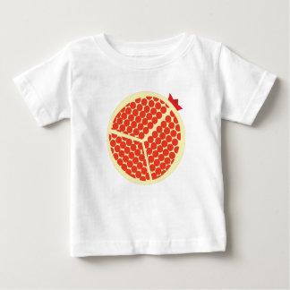 Camiseta Para Bebê pomegrante no interior