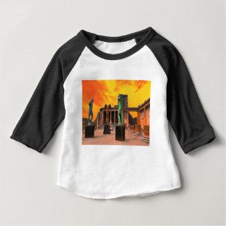 Camiseta Para Bebê Pompeia Italia