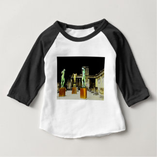 Camiseta Para Bebê Pompeii Italia