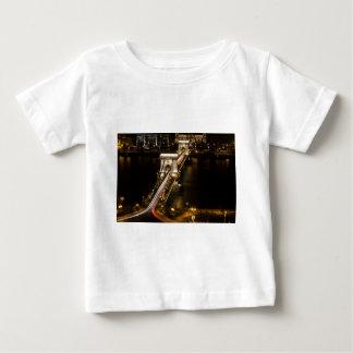 Camiseta Para Bebê Ponte Chain de Budapest