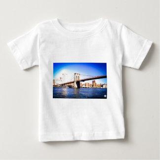 Camiseta Para Bebê Ponte de Brooklyn