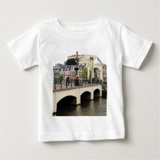 Camiseta Para Bebê Ponte magro, Amsterdão, Holland